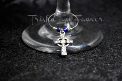 Angels & Crosses Wine Charms (#3)