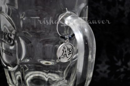 Oakland Athletics Logo Drink Charms