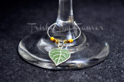 Autumn Leaves Wine Charms (#1)