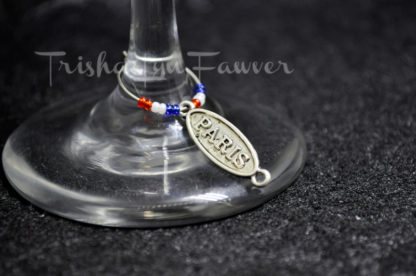 Parisian Wine Charms