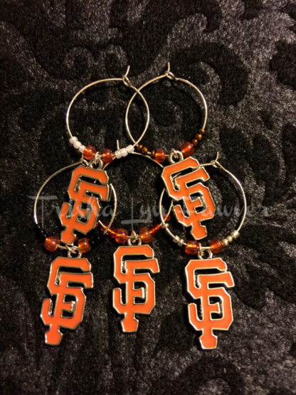 San Francisco Giants Logo Drink Charms