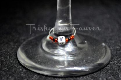 V-I-N-O Wine Charms