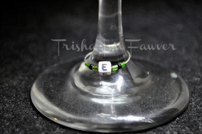 W-I-N-E Wine Charms
