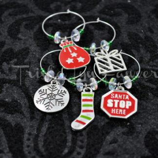 Christmas 2013 Holiday Wine Charms (#1)