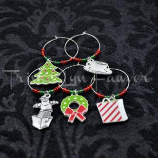 Christmas 2013 Holiday Wine Charms (#3)