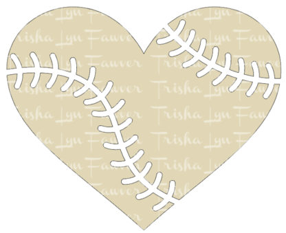 Baseball Love Vinyl Decal