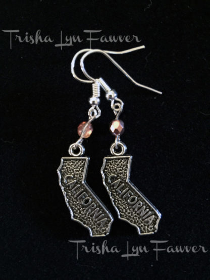 California Gold French Hook Earrings