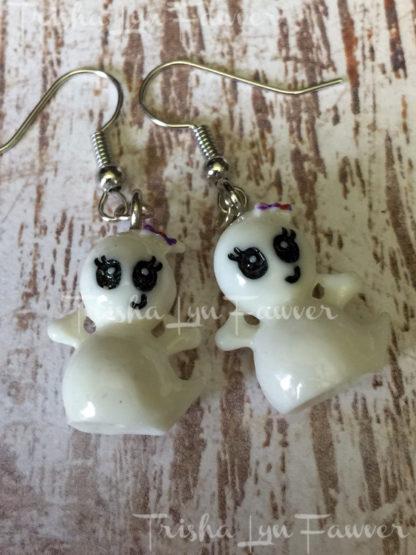 Cute Ghost Earrings