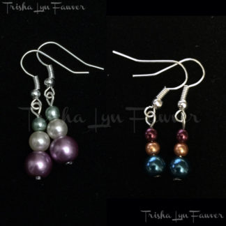 Pearl Trio Earrings