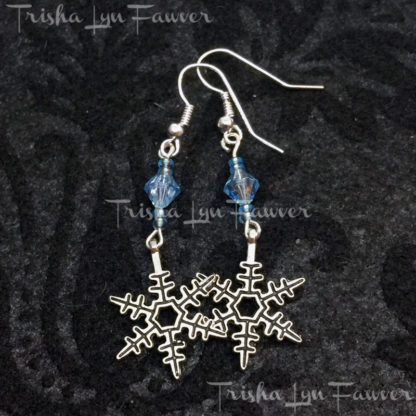 Frozen Snowflake Earrings