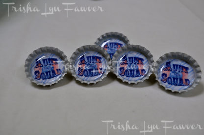 Bottle Cap Pins & Magnets