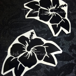 Hibiscus Flower Decals