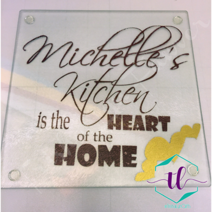 Personalized Decorative Kitchen Cutting Board or Cheese Plate