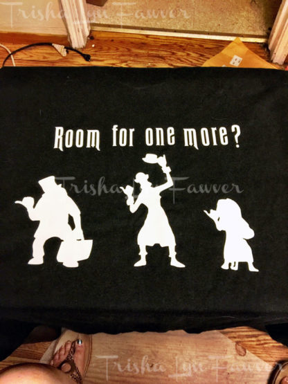 Hitchhiking Ghosts Iron-On Decal