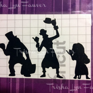Hitchhiking Ghosts Vinyl Decal in Black