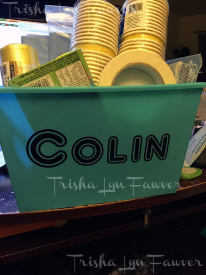 Personalized Name Vinyl Decals