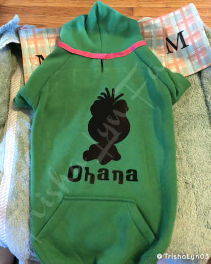 Ohana Iron-On Decals