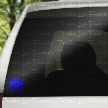 Pokemon GO Frequent Stops Vinyl Decal in Blue