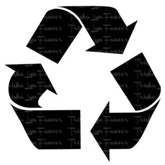 Recycle Symbol Vinyl Decal