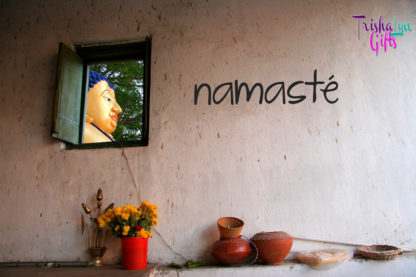 Namaste Indoor Vinyl Decal
