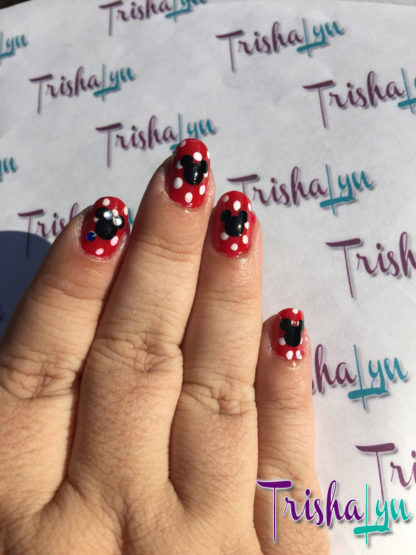 Mickey Mouse Nail Vinyls