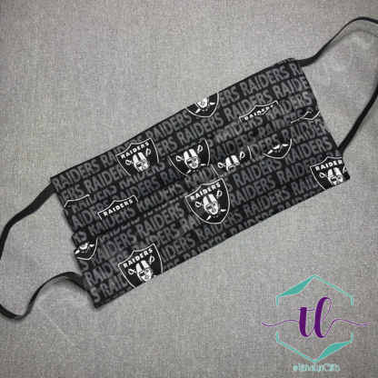 Cloth Surgical Style Mask - Raiders