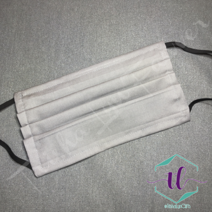 Cloth Surgical Style Mask - Gray